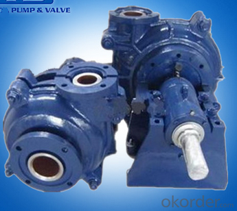 Abrasion and Corrosion Resistant Industrial Slurry Pump