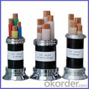 0.6/1KV,low voltage,copper conductor,XLPE insulated,power Cable