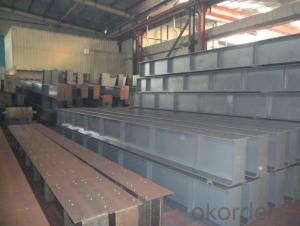 Carbon steel H BEAM for construction GBQ235B