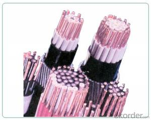 No (low) halogen flame retardant cable suitable for systems with fire safety requirements laid