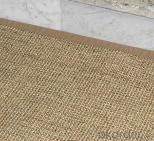 Different Shape customer-made sisal mat/carpet/rug