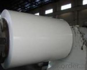 PPGI Color Coated Galvanized Steel Coil in White Color