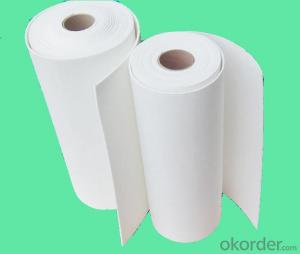 Ceramic Fiber Paper  High Pure for heating insulation