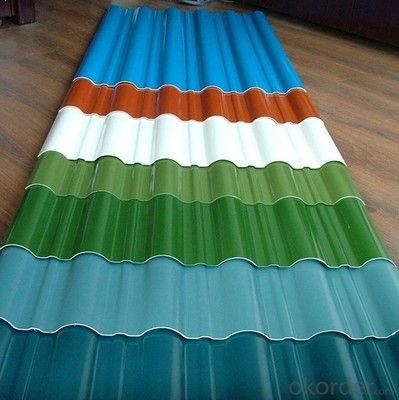 Industrial and Civil Architecture Roof Boarding Color Coated Sheet