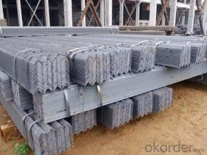 Angle Steel Hot Rolled ASTM A36 and GB Q235