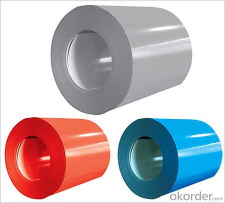 Pre-painted Galvanized/Aluzinc Steel Sheet Coil with Prime Quality and Lowest Price color is red