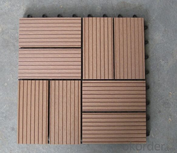 WPC Wood Plastic Composite Natural Colour Slip Resistance to Water Anti Moisture Insect