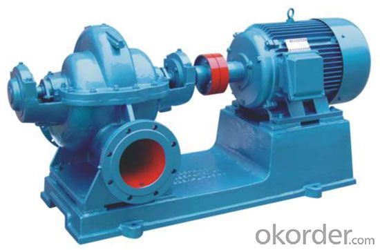 Horizontal Axially Split Casing Double Suction Pump SBS Series