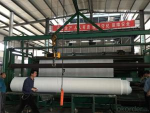 Nonwoven Geotextile for Slope Protection With 100g 150g 200g 300g 350g 400g
