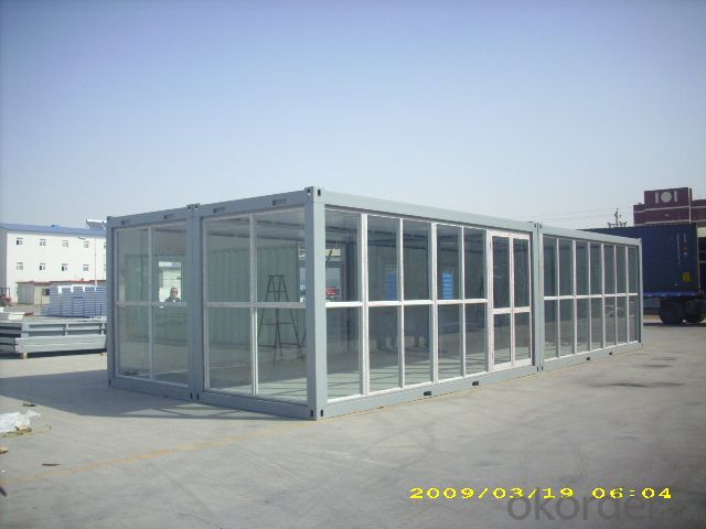 Container House Low Cost from CNBM with CE Certificated