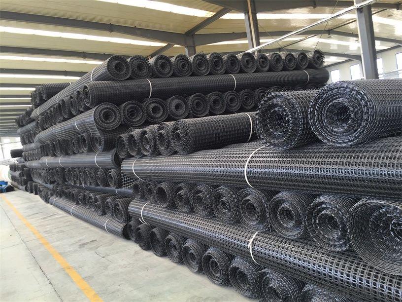Polyester Tensar Triaxial Uniaxial Fiberglass Geogrid