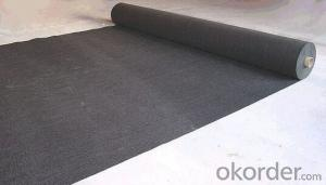 Non Woven Black Geotextiles Factory Supply 200g/m2 for Earthwork