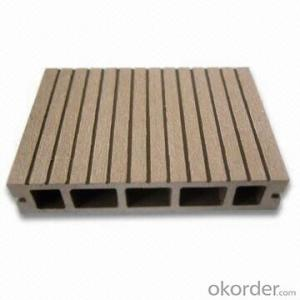 WPC Decking Wood Plastic Composite Anti-water, Anti-insect,  Rigidity