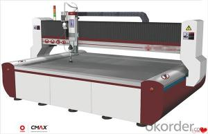 5 Axis Waterjet Machine Quick Position Some or Few Fixing Equipments