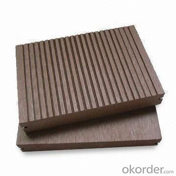WPC Decking Wood Plastic Composite Anti-water, Anti-insect, Outdoor Decoration