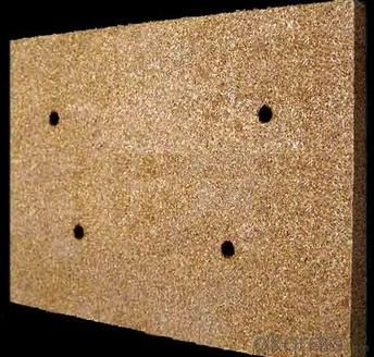 Silver/ White/Golden Vermiculite Board for Fire Insulation
