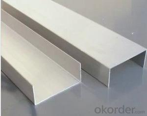 Galvanized U Shaped Channel Steel Beam for Construction