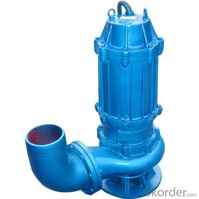 Sewage Submersible Dewatering Centrifugal Pump WQ Series