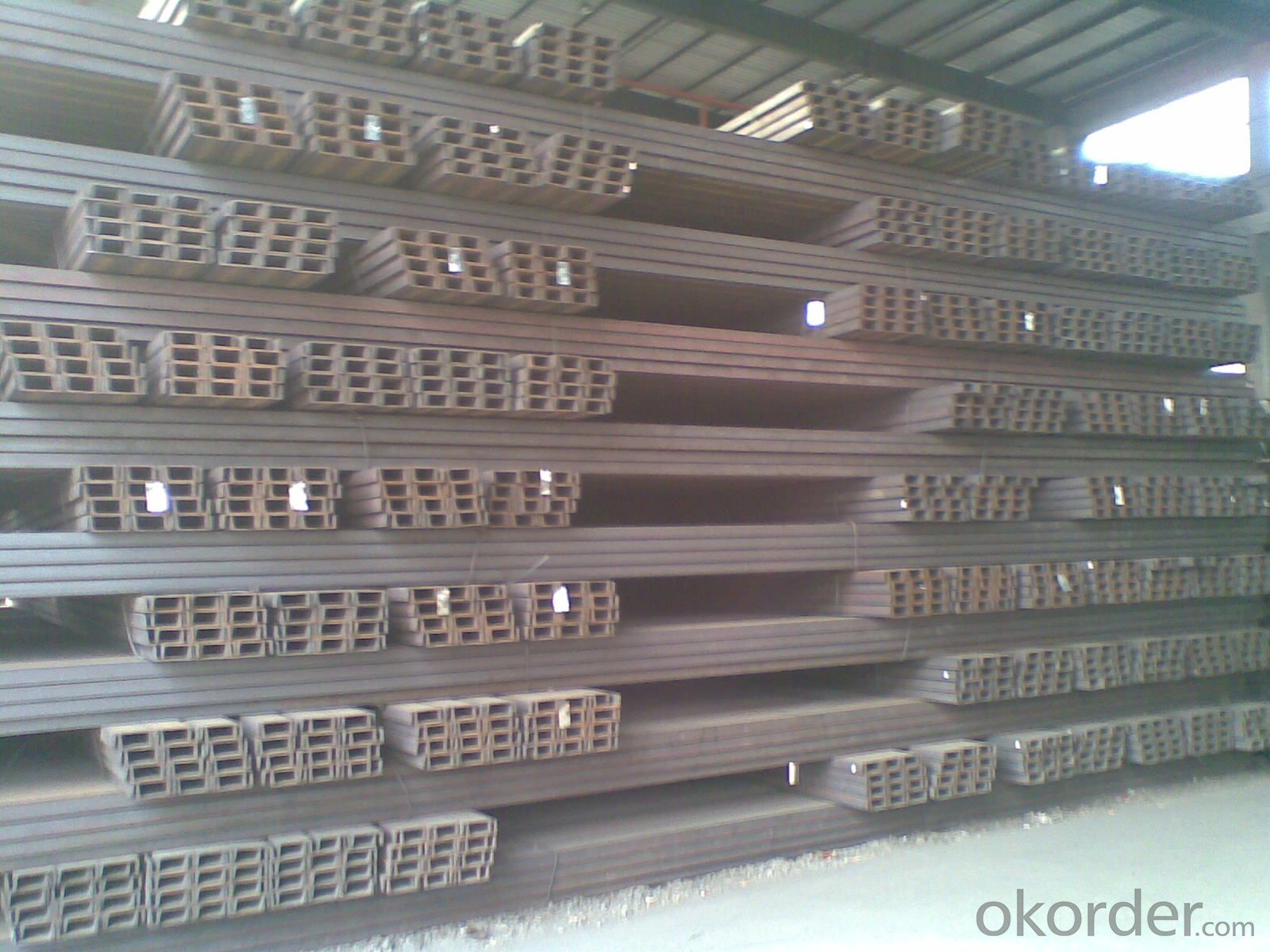 Mild steel u channels for structure construction jis gb upn upe