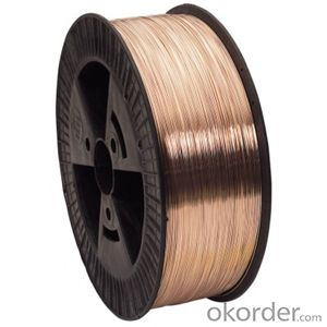 welding wire/copper material CO2 gas shielded welding wire ER70S-6