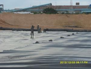 HDPE Geomembrane for Environmental Projects water conservancy projects landfill mining  canal: