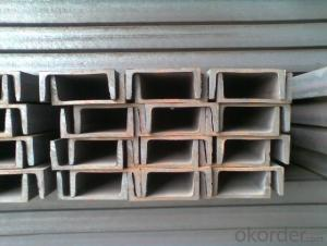 180mm*70mmm U channel steel for construction
