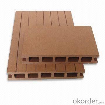 WPC Decking Wood Plastic Composite Anti-water, Anti-insect, Unique Combination
