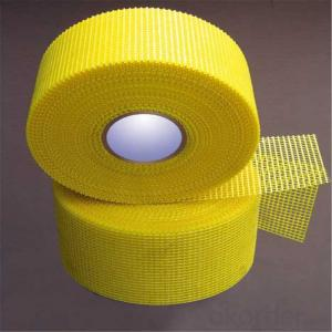 C-glass Fiberglass Fire Mesh Tape for Construction Material