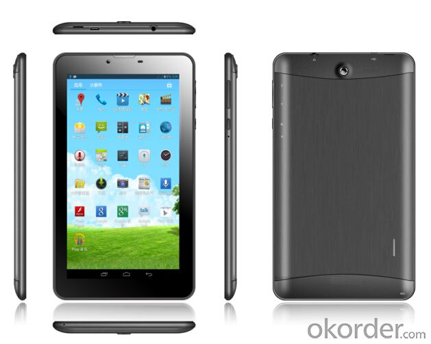 7 inch 3G Tablet PC Quad Core MTK8382 512B+4GB Camera 0.3+2.0MP