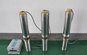 4inch DC Brushless Solar Pump for Small Irrigation