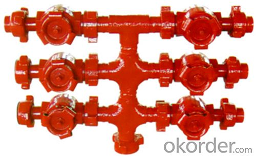 Well-cementation Valve Stack of High Quality with API Standard