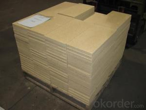 Golden Vermiculite Board for Fire Insulation