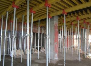 Adjustable Prop Vertical Robust Suspended Slab Formwork System