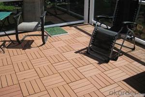 WPC Wood Plastic Composite Different Colour Resistance to Water  Low Maintenance