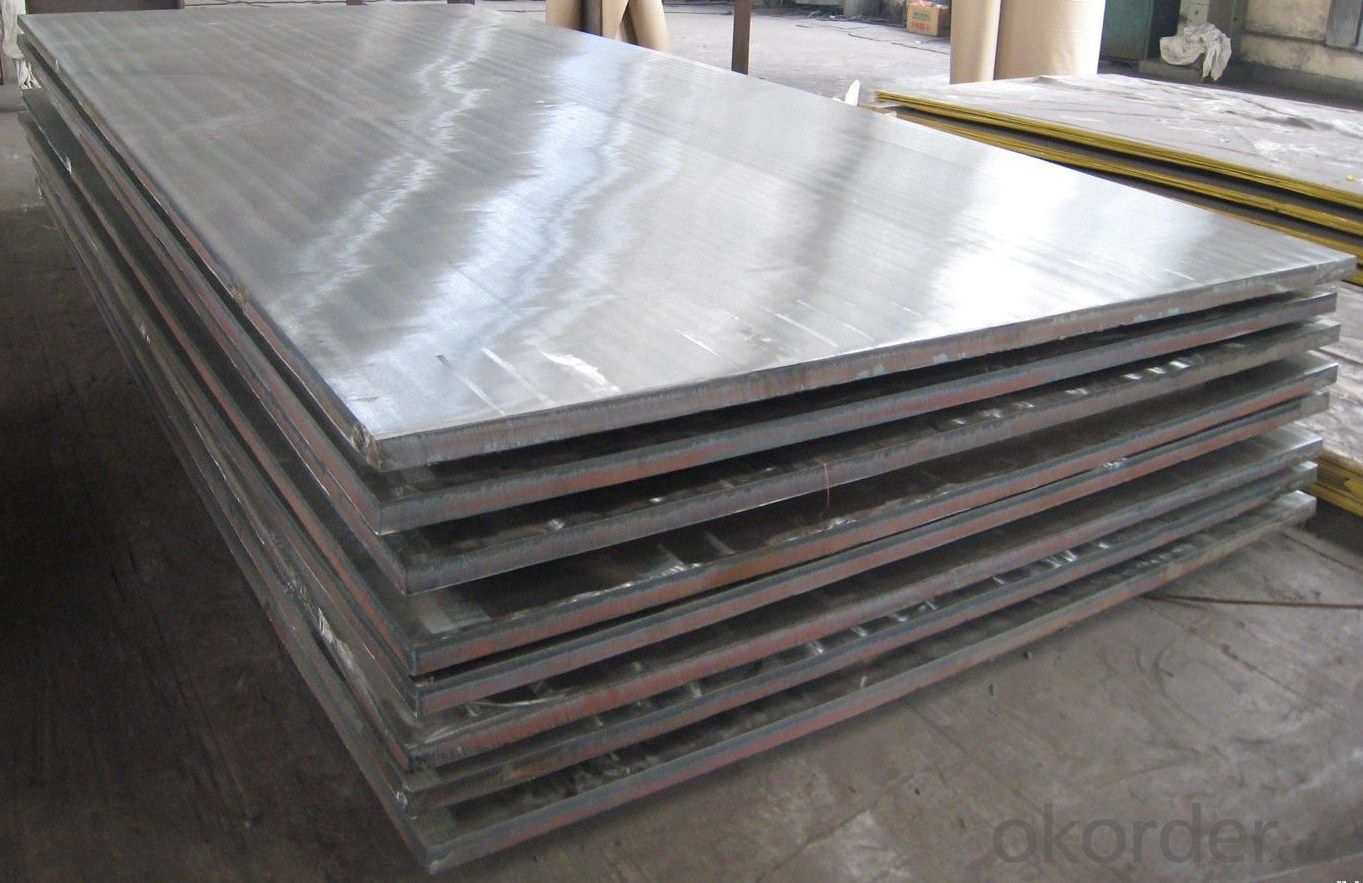 Stainless Steel Plate 316Ti with Surface Treatment