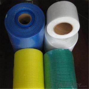 E-glass Fiberglass Fire Mesh Tape for Construction Material