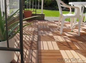 WPC Wood Plastic Composite Natural Colour Slip Resistance to Water