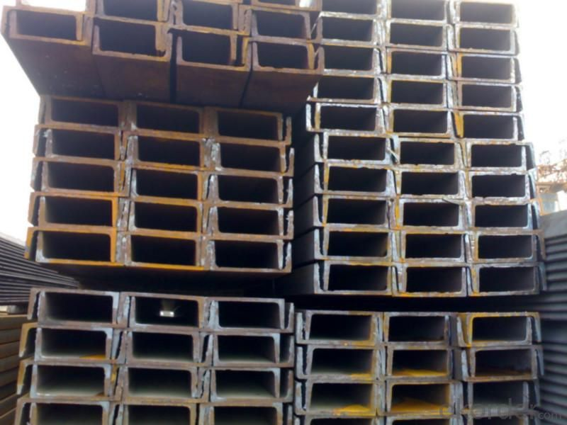 100mm*50mm U channel steel  for construction
