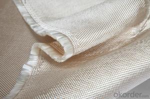 Gold Vermiculite Coated Fiberglass Fabrics