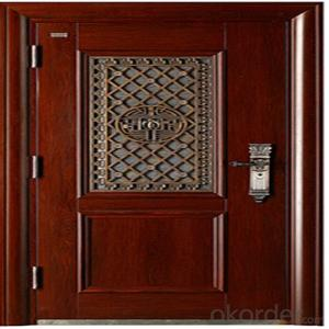 Galvanzied Steel Security Door With Pre-Painted Color
