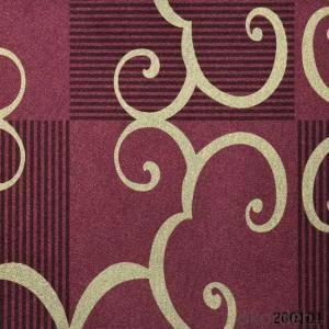 Metallic Wallpaper Brand New Red Chinese Latest Design Wallpaper