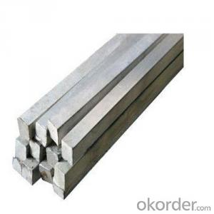 Steel Bars in Square Section with American Standard ASTM A36
