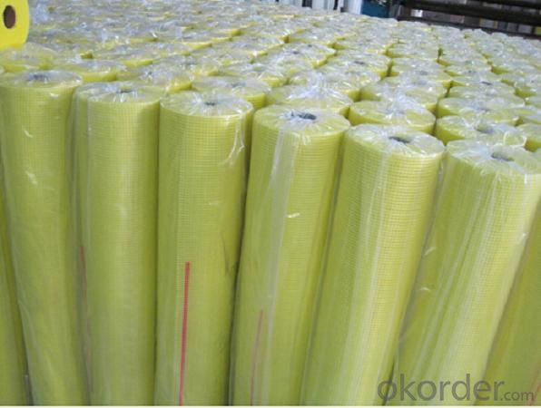 fiberglass mesh cloth with high strength 55g 9*9