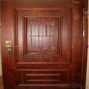 Galvanzied Steel Security Door With Best Quality