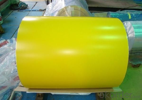 An-Ti Erode PPGI Prepainted Color Coated Steel Sheet Coil Roofing Tile