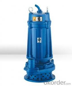 WQ Series Submersible Centrifugal Sewage Pumps With high performacne