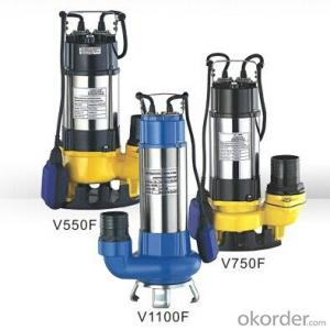 WQ Series Submersible Centrifugal Sewage Pump with high Quality