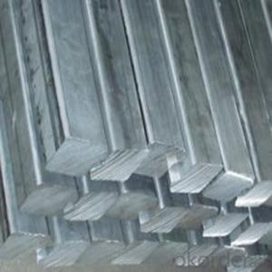 Structure Steel of Square Long Bar of 6 Meters and 12 Meters