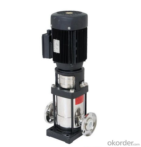 High pressure water pump, multistage vertical turbine pumps