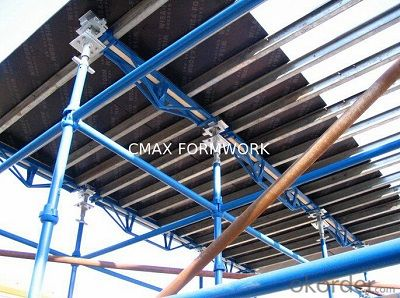 Cost Effective Slab Formwork with Quick - Striking Head Jack